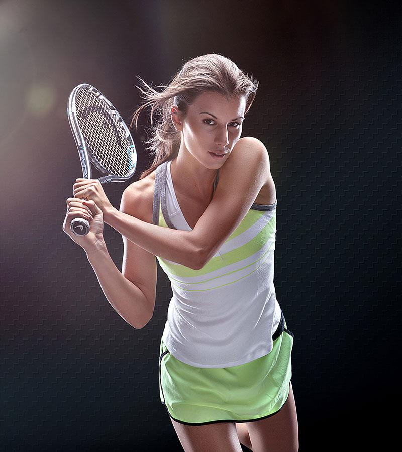 Цветана Пиронкова - рекламна фотография
